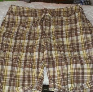 Pants - Plus size Bermuda shorts
